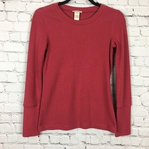 Sundance Crew Neck Thermal Petite Small